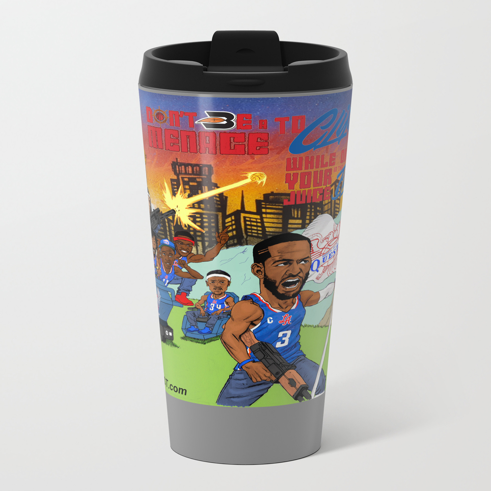 Don't Be A Menace To Clipset Nation Travel Mug TRM8951593