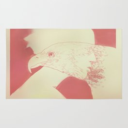 """""""Once I Was an Eagle"""" by Justin Hopkins Rug"""