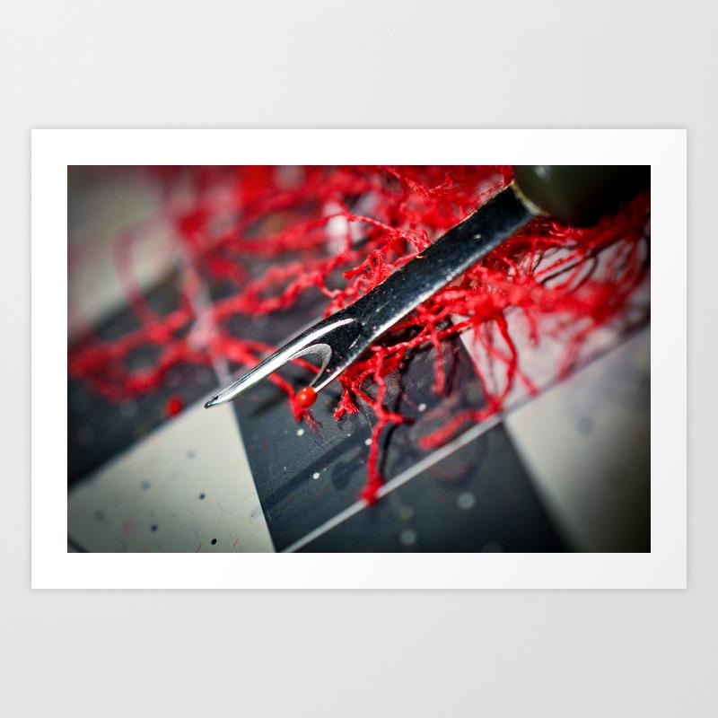 Seam Ripper Aka The Ripper Art Print by Cadmiumcraig PRN8722739