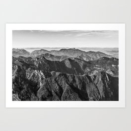 View of Alps Art Print