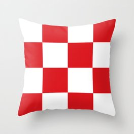 Flag of North Brabant Throw Pillow