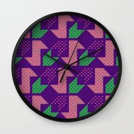 Clover&Nessie_Lavender&Mauve Wall Clock