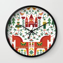 Scandinavian Inspired Fairytale Wall Clock