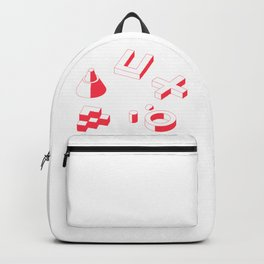 3D Shapes Backpack