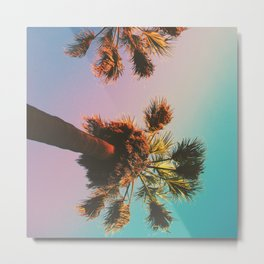 Sunset in Echo Park Metal Print