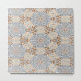 The Alamo Kaleidoscope DNA 6390 Metal Print