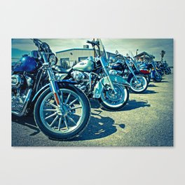 Biker's Meeting, El Paso - EPBM04 Canvas Print