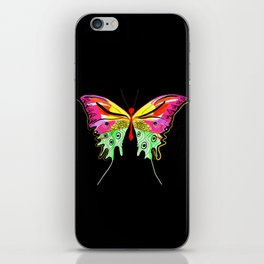 Art-Deco inspired butterfly iPhone Skin