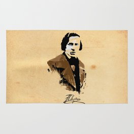 Frederic Chopin - Polish Composer, Pianist Rug