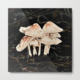 mushroom village Metal Print