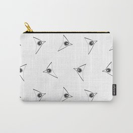 Minimalistic graphic birds pattern Carry-All Pouch