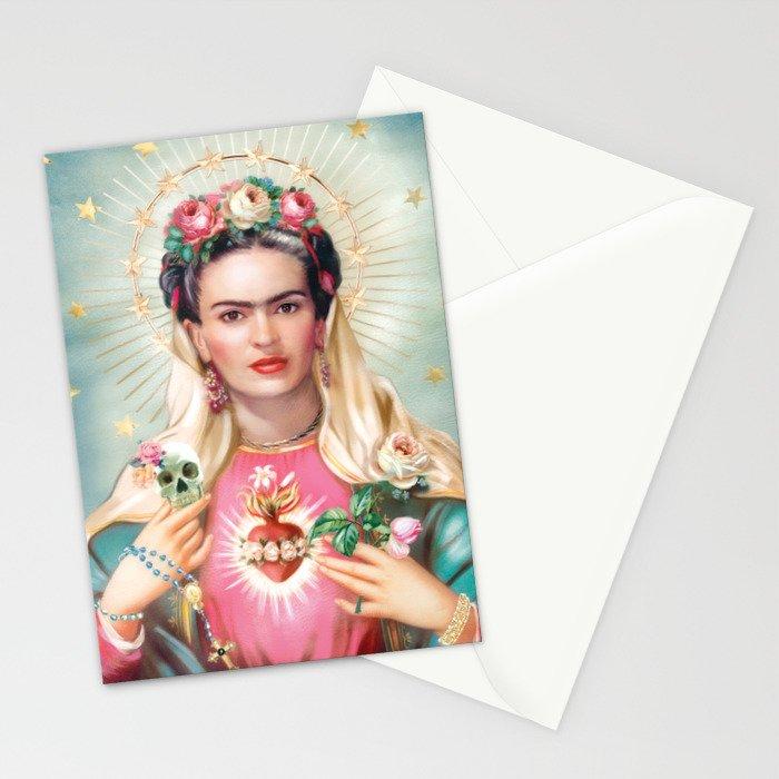 Saint Frida Kahlo Stationery Cards By Dirtylola Society6