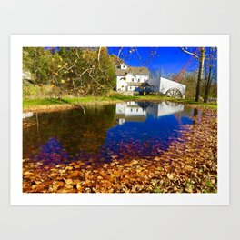 Bright Fall Day Art Print