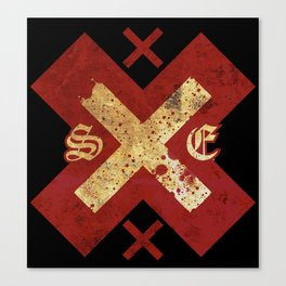 Strage Edge xXx Canvas Print