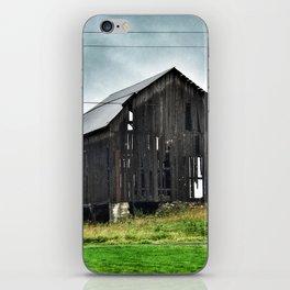 East Cayuga Lake Barn iPhone Skin