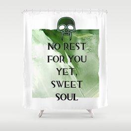 No Rest Shower Curtain