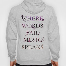 Music quote Hoody