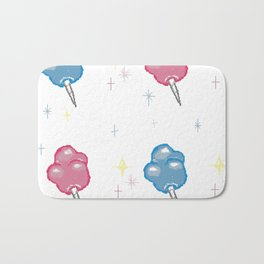 Cotton Candy Clouds Bath Mat