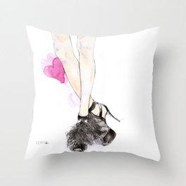 Jimmy Choo Throw Pillow