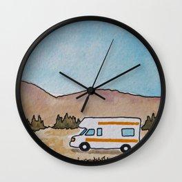 The Roaming Home Wall Clock