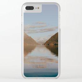 Alouette Lake Clear iPhone Case