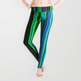 Colorful Barcode Leggings