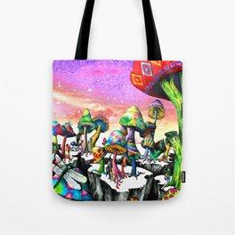 Mushroom Paradise Tote Bag