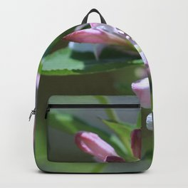 Pink Fairy Flowers Backpack