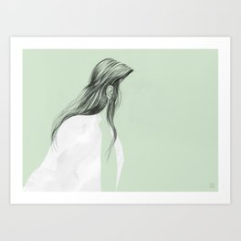 On the go - Ear Tuck No.2 Art Print