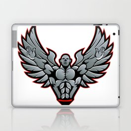 Symbol for gym and fitness Laptop & iPad Skin