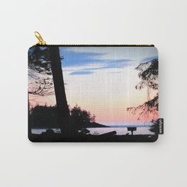 Pink Skies at Night - Deception Pass State Park, Whidbey Island, WA Carry-All Pouch