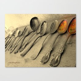 Just Two Tablespoons Canvas Print