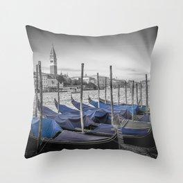 VENICE Idyllic Grand Canal Throw Pillow