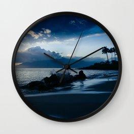 Polo Beach Dreams Maui Hawaii Wall Clock