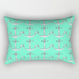 Redwood Anchor Rectangular Pillow