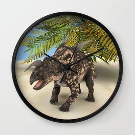 Dinosaur Einiosaurus Wall Clock