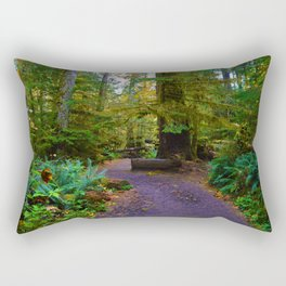 Cathedral Grove on Vancouver Island, BC Rectangular Pillow
