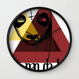 Pandabär Wall Clock