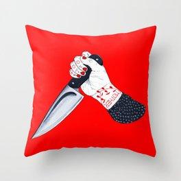 Norman Bates Throw Pillow