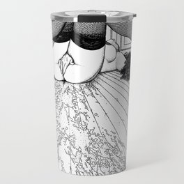 asc 632 - L'archipel du plaisir (Liquid joy II) Travel Mug