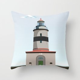 The lighthouse of Falsterbo Throw Pillow