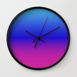 Unicorn Ombre Wall Clock