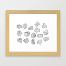 Thoughts-a-Million Framed Art Print