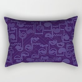 Nocturnal House Rectangular Pillow