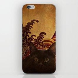 Japanese cat-82 iPhone Skin