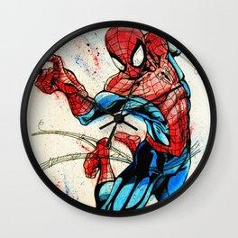 Web-Slinger Spider-Man Wall Clock