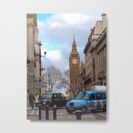 Big Ben - Colour Metal Print