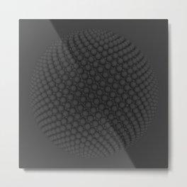 Fibo Orb Metal Print