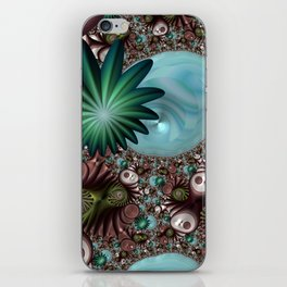 Tropical Trails Fractal iPhone Skin