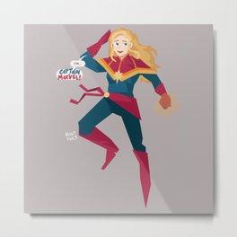 Carol Danvers Metal Print